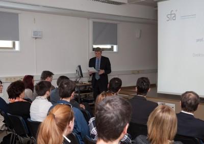 Prof. dr. Jadran Lenarčič, Director Jožef Stefan Institute